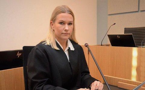 Skjerpa krav: Politiadvokat Andrea Finckenhagen krevde at han skulle dømmast til å betale ei bot på 24.000 kroner, subsidiært fengsel i 24 dagar.