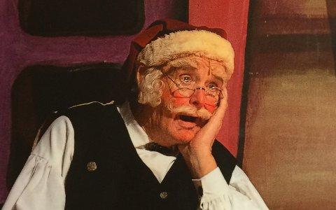 GLANSNUMMERET: Arnold Petersheim har neppe tall på hvor mange ganger han har spilt julenissen i Putti Plutti Pott.