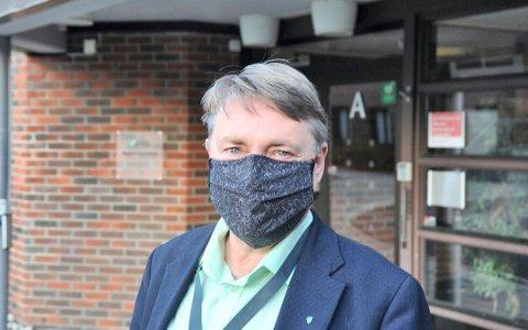 VARIERENDE TALL: Ordfører Inge Solli (V) i Nittedal kommune ser at smittetallene går opp og ned i kommunen.
