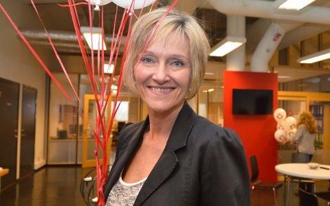 TAR OVER: Ingelise Schliekelmann blir ny styreleder i Sandefjord Næringsforening.
