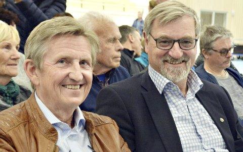 Harald Storvik og Vidar Aarvoll. FOTO: YNGVE LIE