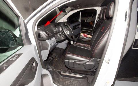 Politiet beslagla og undersøkte varebilen som vart brukt etter drapa. Den hadde en 35-åringen frå Nordhordland fått låne av eit firma på uærleg vis.