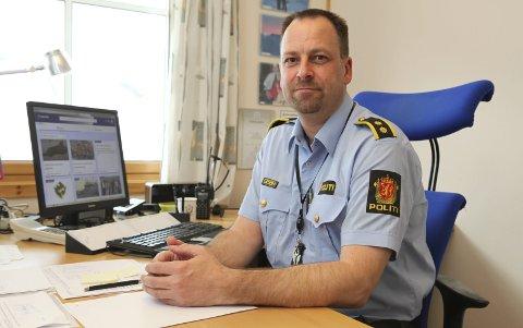 Politioverbetjent Ronny Borge. Foto: Tore John Andreassen