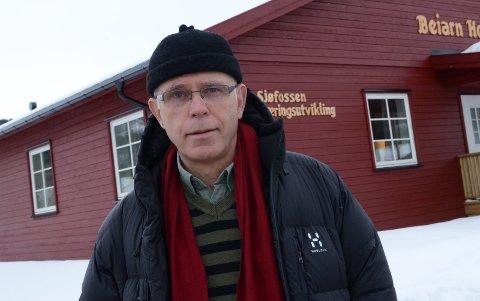 Ivrig: Fiskeentusiast Frigg Ottar Os gir gjerne ros til oppdrettsnæringen i Salten.