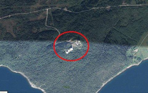 FORSVARET: Radarstasjonen på Veten i Fauske kommune kan ha vært et fotomål for Arjen Kamphuis.