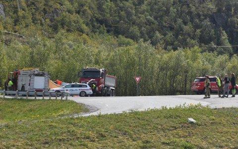 En mann i 30-årene er siktet etter dødsulykken i Gildeskål forrige uke.