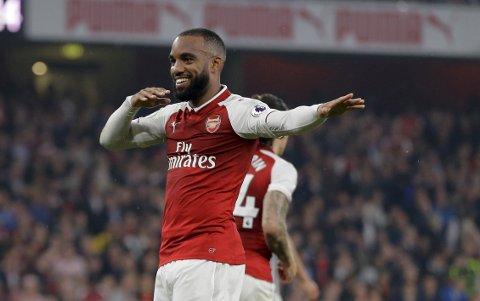 Arsenal og Alexandre Lacazette skal være i stand til å ta tre poeng mot Palace.