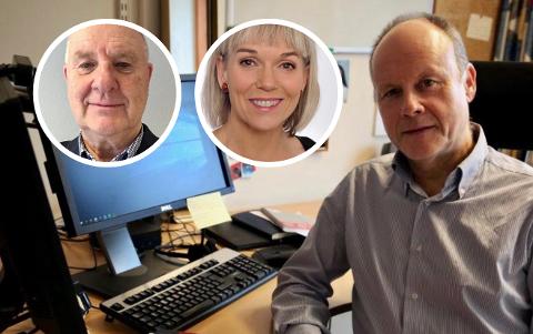 Psykologspesialistene Anders Skuterud og Eva Tryti (innfelt) og jusprofessor Thomas Eeg forteller om arv og konflikt.