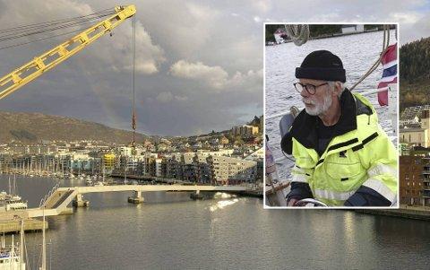 Båteier Odd Reidar Solem sier det har vært mange problemer med Småpudden i flere år.