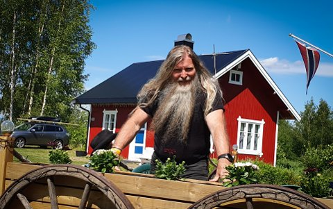 Populær: «TrygveViking» Lillemo har over 17.000 fans som vil høre ham synge