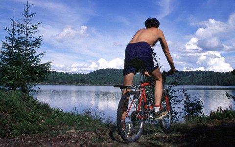 ÅPENT BREV TIL TERRENGSYKLISTENE: «Vi oppfordrer deg til å sette fra deg sykkelen når du vil inn på de stille stiene», skriver Inger G. Aasand fra Drammen.