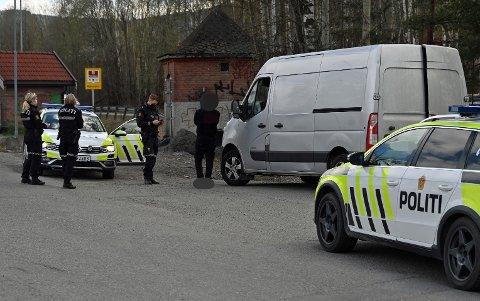 Mannen i 20-årene ble stoppet ved E134 i Steinbergveien.