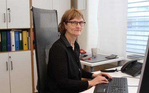 Politifullmektig Inger Helen Stenevik, dyrekrim-eininga i Florø.
