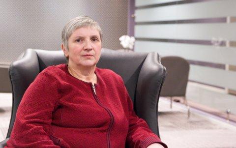 Astrid Gytri, fylkessekræter i Landsforeningen for Pårørende innan Psykisk helse, meiner tilbodet til psykosepasientar er for dårleg.