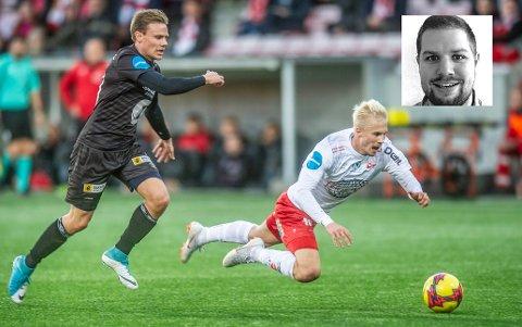 IKKE ALENE: FFK og Jona Veteli har tapt to kamper på rad, men kan fortsatt rykke opp. 2. divisjonsekspert Jørgen Tjærnås mener det ikke er tilfeldig at ingen av topp fem-lagene har vunnet mer enn to av sine siste fem kamper.