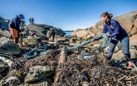 Kampen mot marin forsøpling pågår for fullt. Nå kan du bidra ved å plukke søppel på Søster.