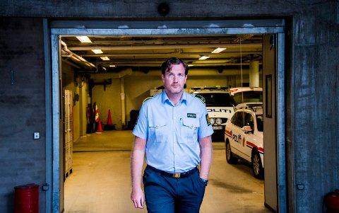 KANDIDAT: Krimsjef Rune Albertsen kan forlate Fredrikstad politistasjon til fordel for Moss - om han får tilslaget på stillingen som politistasjonsjef.