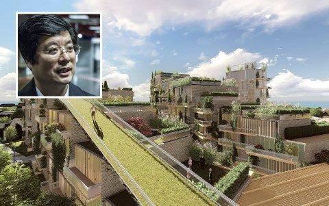 Naboene til Kan Caos prosjekt på Cicignon fikk onsdag informasjon om fremdriften av forretningsmannen, som håper å kunne ha flere leiligheter klare til innflytting om 18 måneder.