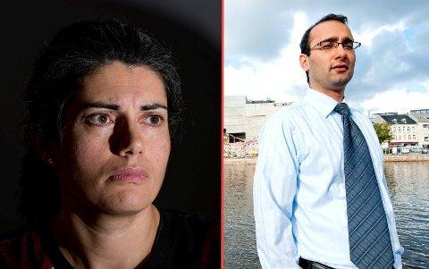 FORLOT RETTSSALEN: Amir Mirmotahari hevdet at Bjørn Sortlands selskap hadde en avtale med Dampskipsbryggen AS, stikk i strid med hva ekskona Racha Maktabi hevder. Hun nektet å være til stede under vitnemålet til eksmannen.