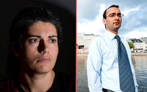BITTERT: Det er ingen god stemning mellom de tidligere eierne av Dampskipsbryggen AS, Racha Maktabi og Amir Mirmotahari.