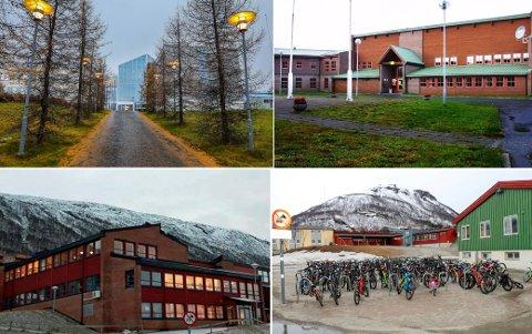 VOKSER FOR HVER DAG: Bare søndag ble fem nye Tromsø-skoler de siste som fikk positive smittetilfeller.