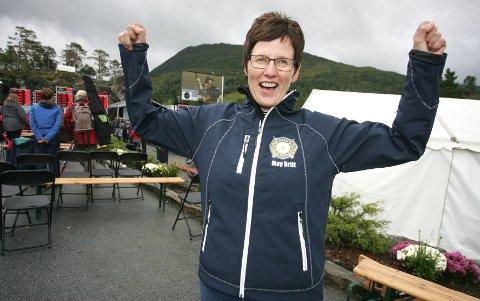 SENSASJONEN: May Britt Radford skjøt 244 poeng på Landsskytterstevnet, og sikret seg dermed en plass i prinsesselaget torsdag.