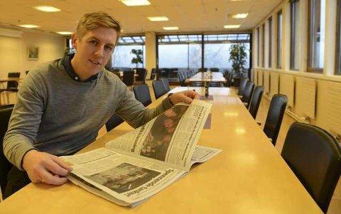 ILLE: Kristian Botten Pedersen, ordførerkandidat i Åsnes, mener man må tenke på nytt om vindturbiner i Våler. Han mener at så mye har forandret seg siden de sa ja til bygging, at mye innen turisme har endret seg.