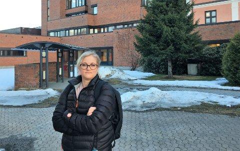 BEKYMRET: Divisjonstillitsvalgt Tone Kristine Amundgaard i Norsk Sykepleierforbund, er bekymret for belastningen på sine medlemmer.