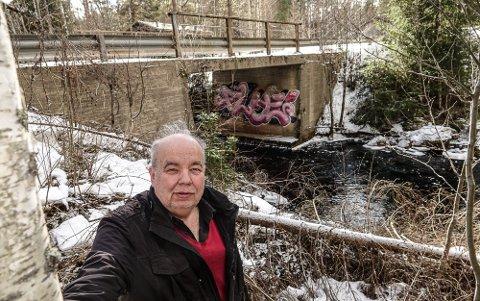 VIL KOSTE: Denne brua over Posåsvegen trenger opprusting som vil koste 175.000 kroner. – Det er urimelig at beboerne må betale for vedlikeholdet kommunen ikke har utført, sier Per Roar Bredvold.