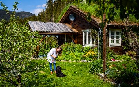 Glimt fra den frodige hagen til Heidi Tofthagen i Ringebu. Sveip til høyre for å se flere bilder fra hagen.