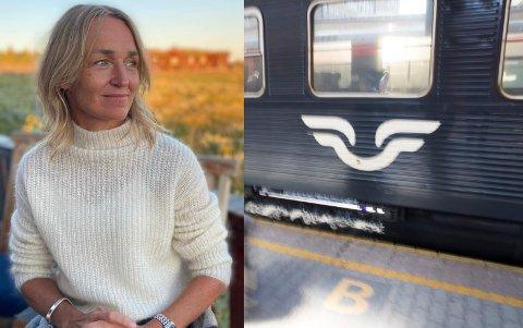 Siv Høye må til Oslo på jobb torsdag kveld. Hun velger å kjøre bil etter det hun opplever som hårreisende billettpriser på toget fra Ringebu til Oslo.