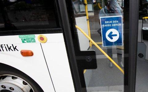 Busselskapet tar grep etter smitte.