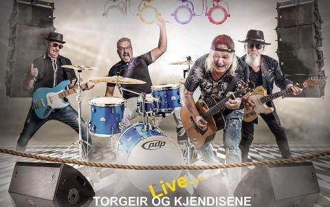Til Glassheim: Torgeir og kjendisene.