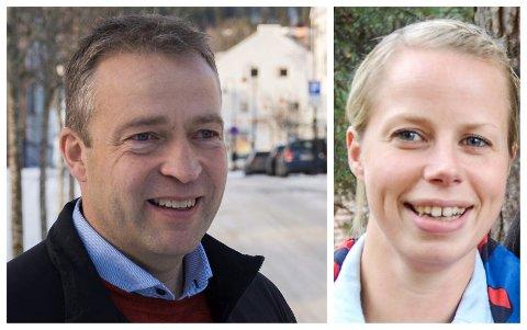 EKSTRA RESSURS: Ordfører Morten Lafton (Ap) trenger hjelp for å løse vervets mange oppgaver, og foreslår 20 prosent stilling for varaordfører Kristine Belsby (Ap).