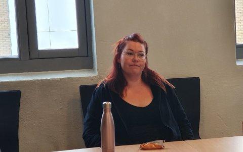 KAN GI TILBAKEMELDING: Charlotte Skram Myrvang (30) er glad for å kunne fortelle om hvordan det er å møte NAV-systemet.