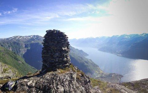 Dronningstien var blant dei mest søkte destinasjonane i Hardanger i juni. Arkivfoto: Ivar T. Eidnes
