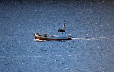 Dette er siste bildet av skøyta til 58-åringen, Fram. Bildet er tatt 2. november i år.