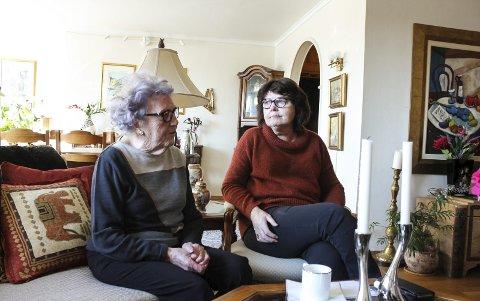 FLYTTET: Haugesunds Avis skrev lørdag om Johanne Sundfør og datteren Ida Sundfør. Moren har flyttet hjem til datteren nå. Hun orket ikke å bo hjemme lenger, nå når kommunens hjemmetjeneste er blitt en del av hennes og mannes hjem.Foto: Espen Løvvik