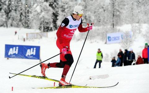 FORTSETTER: Mosjøeværingen Ole Jacob Forsmo fortsetter med skiløpinga.
