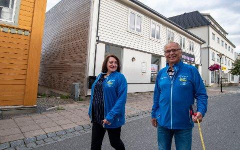 Nestleder i Horva Ole Nilsen og prosjektleder Sonja Folgerø gleder seg til å slippe landbruksnæringa løs ibyen.