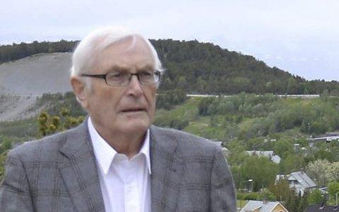 «GM»: Gunnar «GM» Mathisen er ganske sikker på at Johan Vasara blir tidenes yngste ordfører i Finnmark. Foto: Kronstadposten
