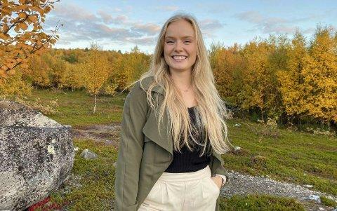 HELHETLIG ARBEID: Synne Fosse (23) er ny ergoterapeut i 100 % stilling i Tana og Nesseby. Akkurat den jobben har ikke vært på disse plassene siden 1960.