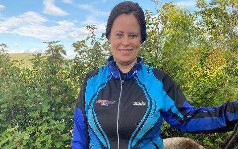 HÅPER DET BLI EN TRADISJON: Monica Balto Anti og Sirma Idrettslag skal nå arrangere maraton for første gang.