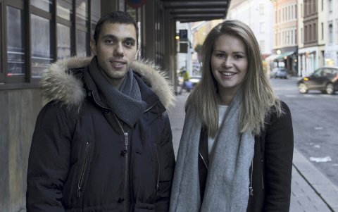 GRÜNDERTEAM: Mario Stjepanovic (26) (t.v.) er hjernen bak Musebox. Pernille Olestad Jensen er creative director og kommunikasjonsansvarlig. FOTO: ARDIJAN SOPI