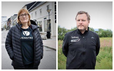 Hanne Nora Nilssen og John André Selnes har meldt seg ut av Alstahaug Venstre. Årsaken er at Venstre sentralt har valgt å støtte prosjekter som Venstre ikke står for.