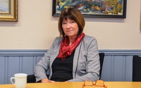 ØNSKER IKKE FORLENGE: Kommunedirektør Inger Lysa.