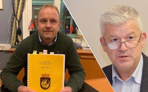 UENIGE: Jone Blikra (Ap) og resten av opposisjonen mener ordfører Grunde Wegar Knudsen (Sp) er inhabil. Ordføreren ser selv ikke grunnlag for inhabilitet.