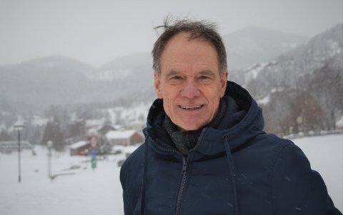 GLAD: Jan Gaute Bjerke, ordførerkandidat for Arbeiderpartiet i Nore og Uvdal, er svært fornøyd med brakvalget.