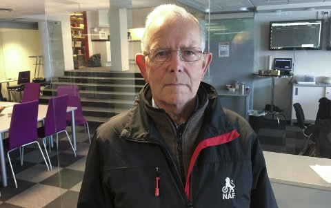 NAF: Leder Jarl Eilif Jakobsen i NAF Lofoten er klar for landsmøtet 2017 i Svolvær.  Foto: Knut Johansen