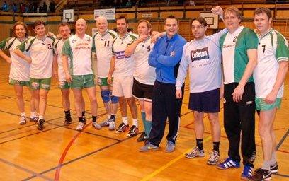 2008-herrevinnerne i GHKs romjulscup i håndball 3. juledag.